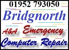 Bridgnorth same day emergency A&A computer repair