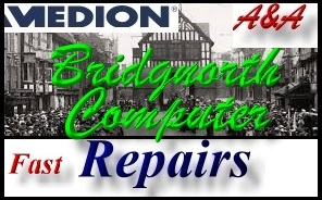 Medion Bridgnorth PC Repair, Medion Laptop Repair Bridgnorth