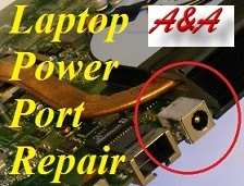 Bridgnorth laptop charging socket repair